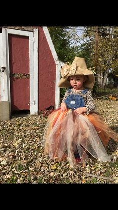 Scarecrow tulle costume