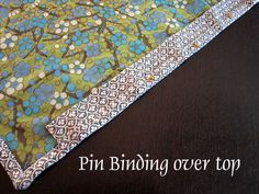 Sleeve to hang a mini quilt -  by StitchedInColor,
