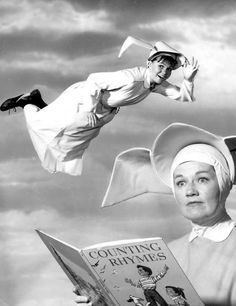 "The ABC sitcom ""The Flying Nun,"" starring Sally Field as high-flying Sister Bertrille, began its three season run on Sept. 7, 1967.Photo of Field and Marge Redmond courtesy of ABC."