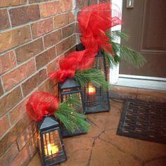 Great way to welcome holiday friends and family! #PartyLite #candles