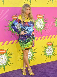 Fergie arriving at Nickelodeon's 26th Annual Kids' Choice Awards at the USC Galen Center in Los Angeles, California - March 23, 2013 - Photo: Runway Manhattan