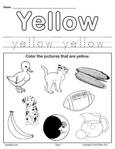 Color Yellow Worksheet - Color Yellow Worksheet Preschool Worksheets Color Worksheets Color Yellow Printable Color Trace And Write Teaching Colors The Color Yellow Worksheet E. Color Worksheets For Preschool, Summer Worksheets, Toddler Worksheets, Free Preschool, Preschool Printables, Color Activities, Preschool Learning, Kindergarten Worksheets, Printable Worksheets