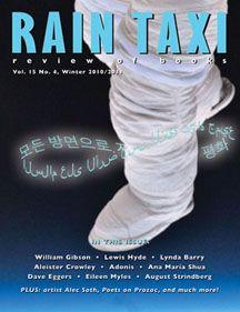 Rain Taxi Winter 2010 Edition