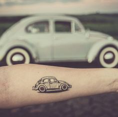 30 Tattoos for Women Vw Tattoo, Beetle Tattoo, Car Tattoos, Tattoo Life, Mini Tattoos, Body Art Tattoos, Quote Tattoos, Tatoos, Cute Little Tattoos