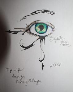 eye of ra tattoo by ~S-D-Miller on deviantART