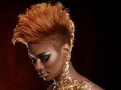 .gold hair