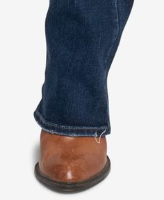 Silver Jeans Co. Curvy-Fit Boot-Cut Jeans - Blue 26x33