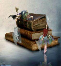 Fairies love tales too