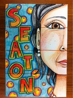 239 best self portrait art lessons images on pinterest in 2018 art