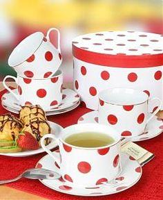 Adorable Polka Dot Teacup Set | Get Cooking!