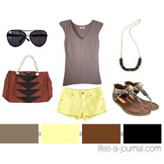 """Tribal + Neutrals..."" by daniellej1116 on Polyvore"