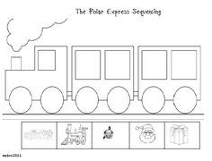 polar express coloring pages - Google Search