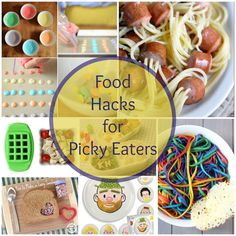 Food Hacks for Your Picky Eater Got a picky eater? I feel your pain! My oldest wouldn't even eat mac and cheese as a kid, my middle only liked things in the shape of balls or food on a stick and my youngest would eat anything as long as we started it with the word …