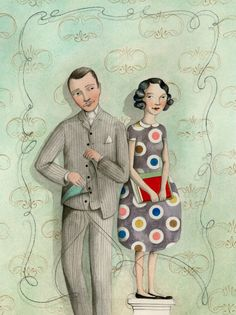 Amazing drawings sophie Blackall- http://www.etsy.com/listing/96756222/the-tailor-and-the-girl