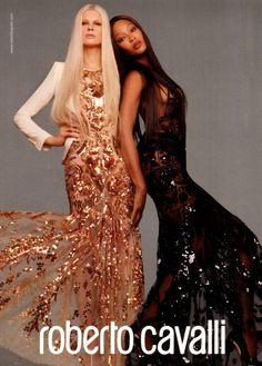 Kristen McMenamy & Naomi Campbell