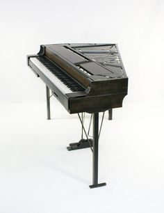 custom keyboard stands – plattsteel piano stands Studio Desk Music, Recording Studio Furniture, Piano Digital, Sheet Music With Letters, Painted Pianos, Piano Parts, Upright Piano, Piano Room, Miscellaneous Things