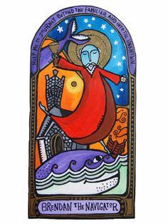 Holy Disorder of Dancing Monks dancing Brendan the Navigator St. Brendan from our dancing monk icon series We Dance Wild dancing Brendan the Navigator St Brendan, Moving To Ireland, Feel Good Quotes, Advent Season, Spiritual Transformation, Christian Art, Lent, Archetypes, Pilgrimage