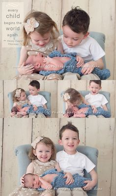 family of 5 pics with newborn - Google Search