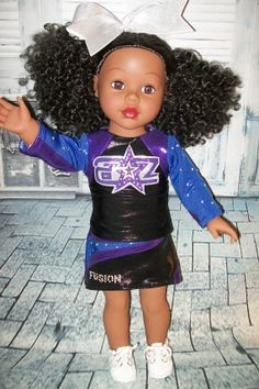 american girl doll clothes-dance cheer