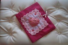Kit costura em feltro - rosa