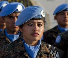 Peacekeepers from Guatemala in Haiti