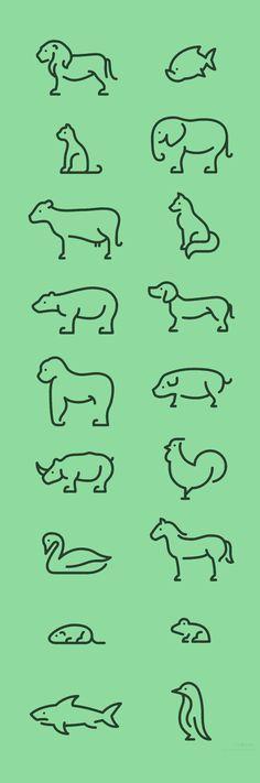 animals, little tattoo idea