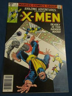 Amazing Adventures featuring X-Men #3 (1980 Marvel) 9.0 Comic Book