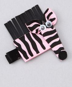My daughter loves zebras!