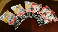 Mama Smith's Review Blog: Topps Baseball Cards