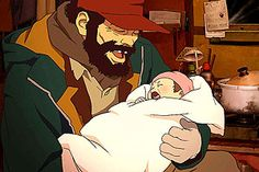 Satoshi Kon's Tokyo Godfathers is a story of benign Christmas miracles with a healthy dose of realism taking us into the world of the homeless where a baby girl is found.  What separates it from the standard Christmas nonsense is it's sense of melancholy without sentimentality; characters who have dignity, rather than self-pity.