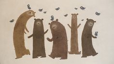 I don't know why, but I like these bears.