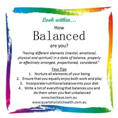 B is for Balanced. 💜  If you dare to look within, then you dare to bring about positive change in your life.   May God Bless You Today. 🙏