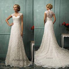 2017 Amelia Sposa Lace Applique Princess Wedding Dresses Berta Champagne Dubai Arabic Off Shoulder A Line Overskirt Wedding Gown Milla Nova Best Bridal Dresses Bridal Dress Designers From Gaogao8899, $165.83| Dhgate.Com