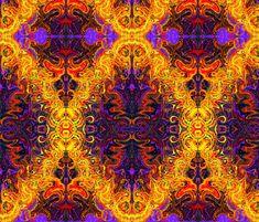 FLAME fabric by joancaronil on Spoonflower - custom fabric