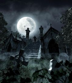 haunted places -