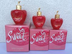 Enfin dispo ! SO SWEET par Lolita Lempicka - Flacon 30, 50 et 80ml