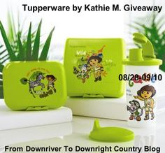 Enter to win a Dora The Explorer Safari Lunch Kit on From Downriver To Downright Country Blog!