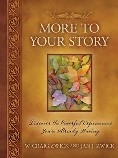 "This book is very intriguing!    I LOVE the sub-title:  ""Discover the powerful experiences you're already having.""    YES! All of us are having experiences...even powerful experiences...but do we acknowledge them?      I liked this statement from the book:  ""Each of us has stories and we need to take time to remember them and then share them or write them down.""    Then the authors share stories from their own lives to ""spring-board"" us into thinking about the similar stories in our own…"