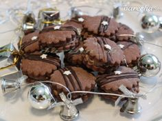 Kolieska z BB pudingu - recept Christmas Goodies, Christmas Baking, Czech Recipes, Bakery, Food And Drink, Cookies, Chocolate, Drinks, Bb