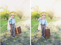 Sticks & Stones | Vintage boy photoshoot