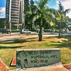 Vejo seres humanos