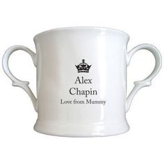 Little Prince General Photo Bone China Loving Cup. £12.99 #NewBaby #LittlePrince #BoneChina #PersonalisedBabyGifts #PersonalisedGifts