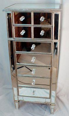Cheap Mirrored Furniture | Cheap Mirror Drawers Furniture