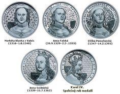 manželky Karla IV