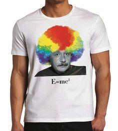 Einstein Afro T-shirt design