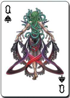 Queen of spades medusa