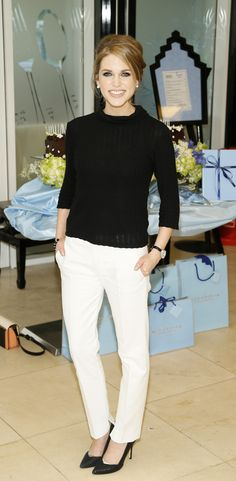 Amy Huberman Celebs, Celebrities, Fashion Over, White Jeans, Amy, Turtle Neck, Actresses, Style Inspiration, Fashion Outfits