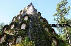 Lava-less Volcano Hotel in Chile