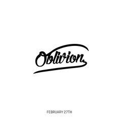 OBLIVION instagram.com/thecoolwords/