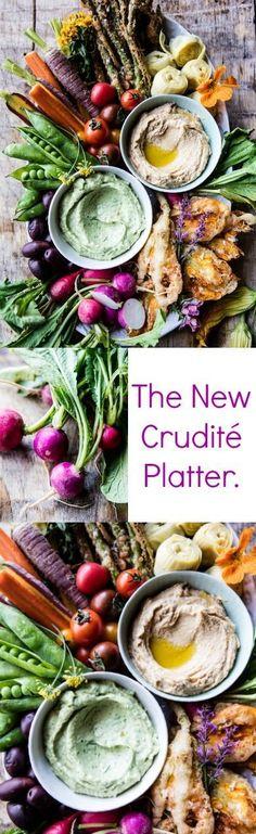 The New Crudité Platter | halfbakedharvest.com @Half Baked Harvest